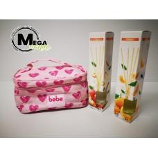Darilni set BEBE + 2x dišeče palčke v steklenički